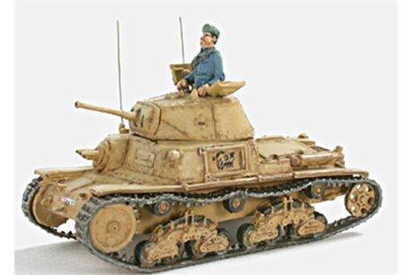 Italian Command Tank  M 41 Fiat ヨ Ansaldo