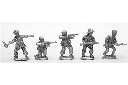 Parachutist of Folgore in different positions 1