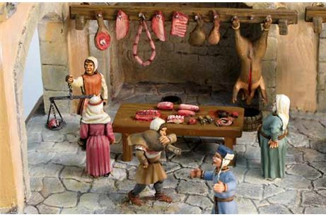 The medieval Seller of Pork