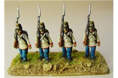 Austrian Fusiliers marching