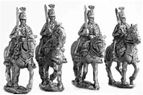 Hussars, dress uniform, walking (1 variants).