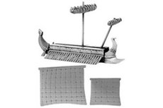Carthaginian Trireme (includes furled & set main and fore sails)