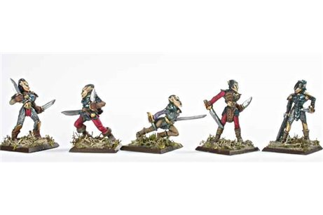 Damned Elves Swordmen 1