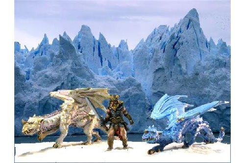 White Ice Dragons