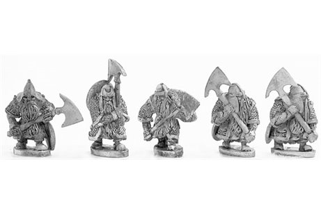Dwarves with Double handed axe 2