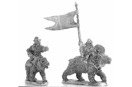 Dwarves with axe on bears Command