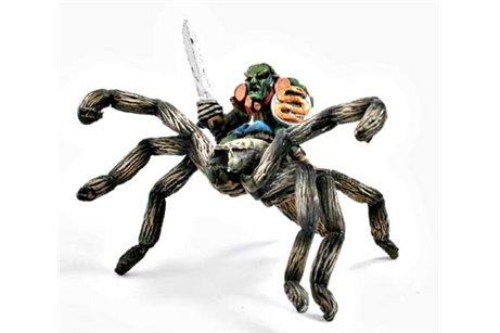 Goblin Warchief on Giant Spider