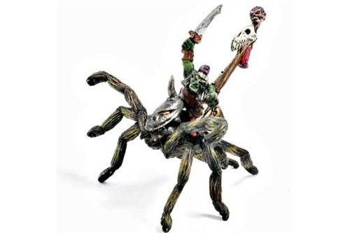 Goblin Sorcerer on Giant Spider