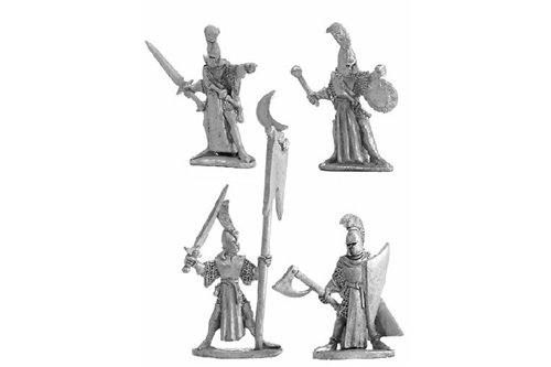 High Elf Command Group 1