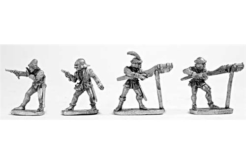 Large Hand Cannons and crew