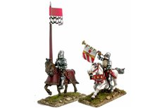Mounted Trumpeter and Standard Bearer 2