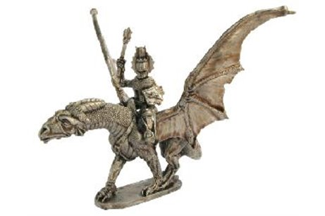 Knight riding a dragon (2)