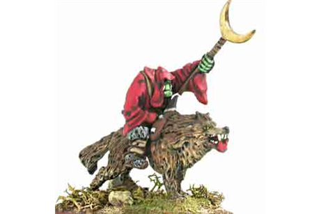 Orc Wizard  Wolf Rider