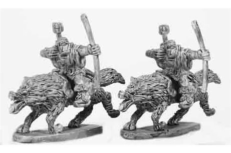 Orcs Wolf Riders with Bow