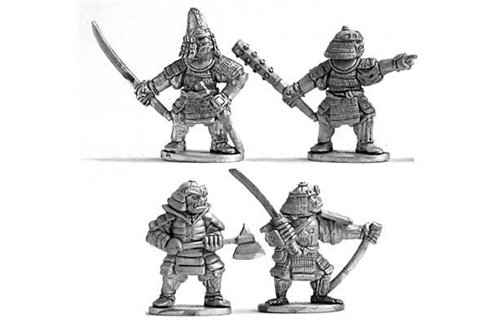 Nihon Orcs with hand weapon