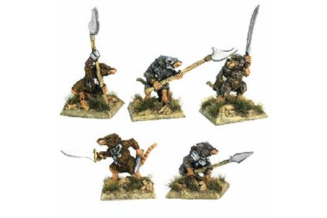Ratscum with two hand weapons