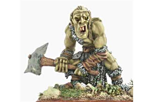 War Troll with Stone Club