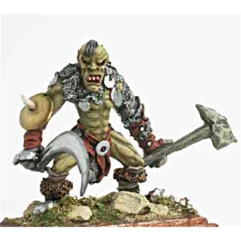 Wartroll With Smashing Weapon Campaign Game Miniatures