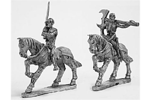 Skeleton Cavalry with two handed weapons 2