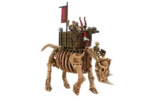 Skeleton War Rhino Bolt trower
