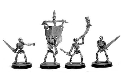 Skeleton Warriors Command 1