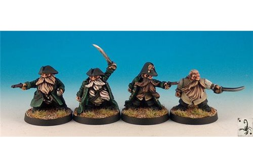 Dwarf pirates