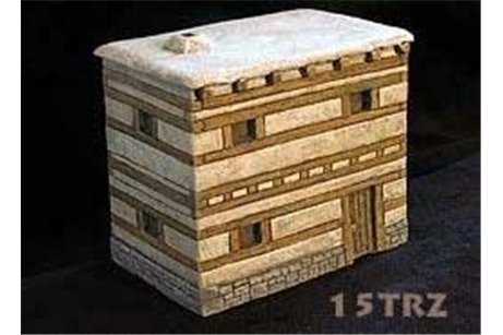 15mm Mycenaean city house