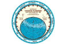 Dutch planisphere for 40ᄚ North
