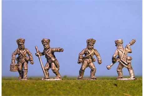 Foot Artillery Crew Loading x 8 figs (4 variants)