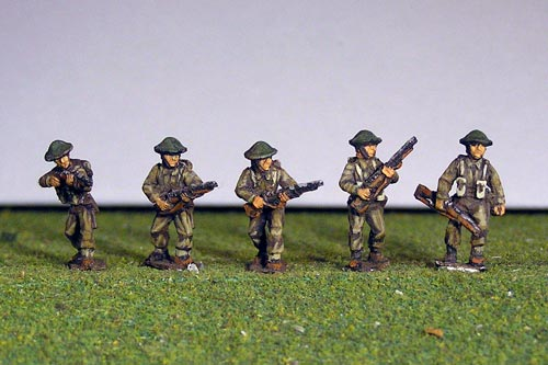 British Riflemen A