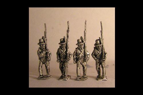 Avantguard Light Infantry Marching