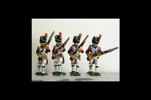 Old Guard Chasseurs Advancing in Full Dress (1804-15)