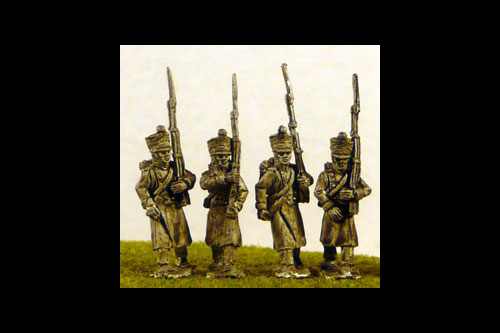 Line/Light Fusiliers in Greatcoat Marching (All Napoleonic periods)