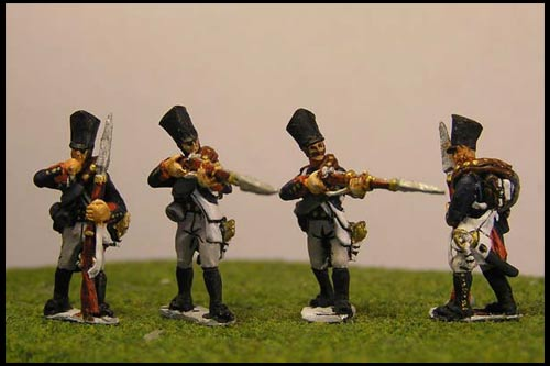 Prussian Line Infantry Firing Line / Skirmsih (4 variants)