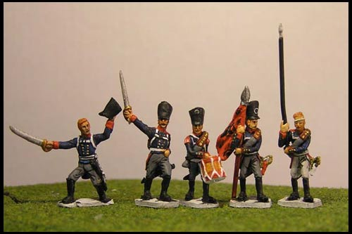 Prussian Line Infantry Command 1