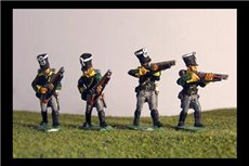 Prussian Jagers Skirmishing (4 variants)