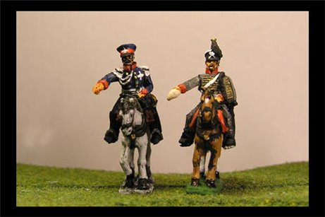 Blucher & ADC (Army General Waterloo and Leipgzig)