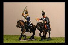Bulow von Dennewitz & ADC (IV Corps Commander Waterloo)