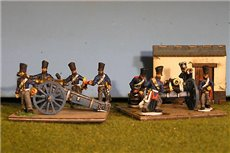 7 inch Howitzer Horse battery and 8 crew