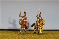 Dragoon Staff Officers x 2 different figures