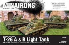 T-26 A&B light tank