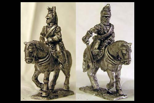 French Cuirassiers Elite Trooper (x 2)