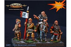 Norse Irish Command (5 foot + 1 mounted Figures)