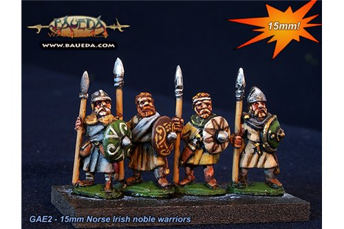 Norse Irish Noble warriors (8 foot Figures)