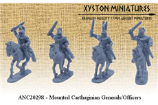 Mounted Carthaginian Generals/Officers