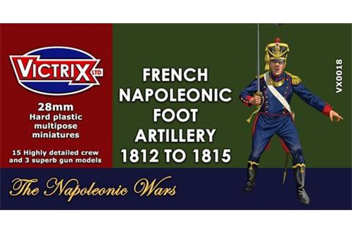 28mm Napoleonic French Artillery 1812 to 1815