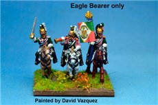 Italian Queen's (Regina) Dragoons Eagle Bearer x2