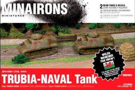 Trubia Naval Tank x 2