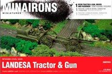 LANDESA TRACTOR & GUN - BOXED KIT