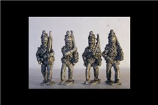 British Riflemen Marching 12 figs